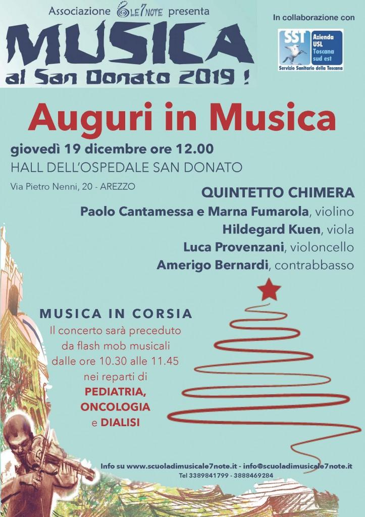 Locandina 19.12.2020 AREZZO Musica in Corsia
